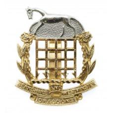 Berkshire & Westminster Dragoons Anodised (Staybrite) Cap Bad