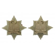Pair of 22nd Dragoons Collar Badges