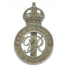 George VI Metropolitan Police Cap Badge