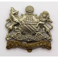 Manchester Regiment Coat of Arms Cap Badge