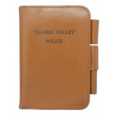 Thames Valley Police Leather Pocket Notebook Cover
