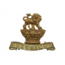 Victorian 15th King's Hussars Collar Badge