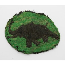31st indian Armoured Division Cloth Formation Sign