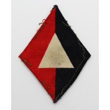 1st Division Royal Artillery Printed Formation Sign