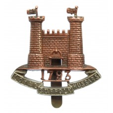 Loyal Suffolk Hussars Cap Badge