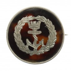 WW1 Royal Navy 1915 Hallmarked Silver & Tortoiseshell Sweethe