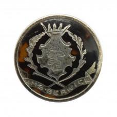 WW1 Royal Navy H.M.S. Berwick 1915 Hallmarked Silver & Tortoi