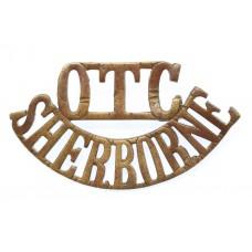 Sherborne College O.T.C (O.C.T./SHERBORNE) Shoulder Title