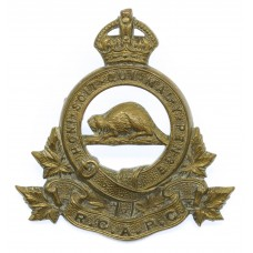 Royal Canadian Army Pay Corps (R.C.A.P.C.) Cap Badge - King's Cro