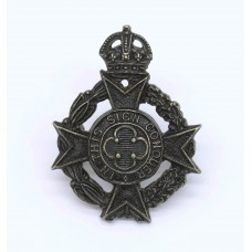 Royal Army Chaplains Department Collar Badge - King's Crown
