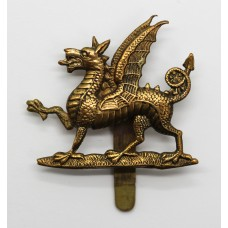 1st Bn. Monmouthshire Regiment Cap Badge