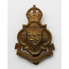 Sussex Yeomanry Cap Badge - King's Crown