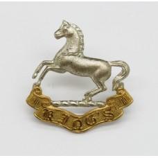 King's (Liverpool) Regiment Officer's Collar Badge