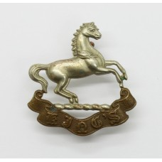 King's (Liverpool) Regiment Collar Badge
