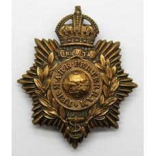 Royal Marines Helmet Plate - King's Crown
