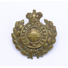 Victorian Northamptonshire Regiment Collar Badge