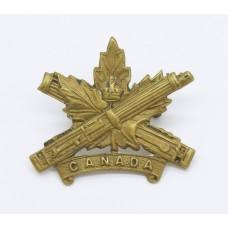 Canadian Machine Gun Corps Collar Badge