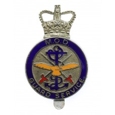 Ministry of Defence (M.O.D.) Guard Service Enamelled Cap Badge -