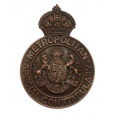 Metropolitan Police Special Constabulary Cap Badge/Lapel Badge -