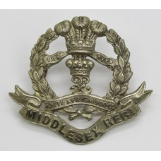 7th, 8th & 9th Bn. Middlesex Regiment N.C.O.'s White Metal Ca