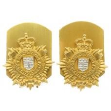 Pair of Royal Logistic Corps (R.L.C.) Collar Badges