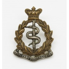 Victorian Royal Army Medical Corps (R.A.M.C.) Officer's Collar Badge