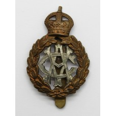 Army Veterinary Corps (A.V.C.) Cap Badge - King's Crown