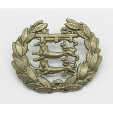 1st Volunteer Bn. Leicestershire Regiment Collar Badge (Pre 1908)