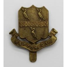 Repton School O.T.C. Cap Badge