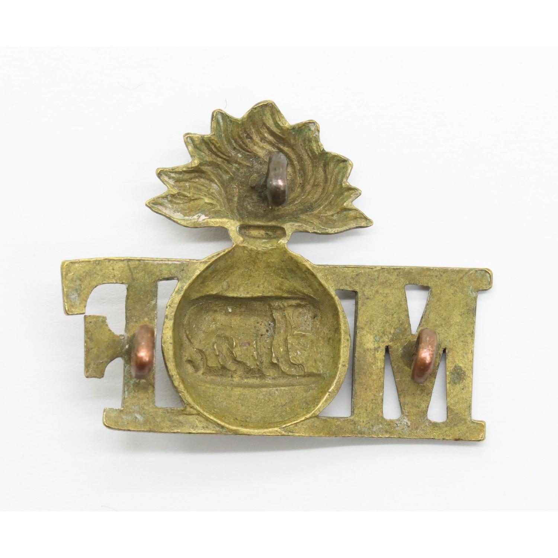 Royal Munster Fusiliers Metal Shoulder Title