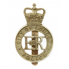 City of London Police Anodised (Staybrite) Cap Badge