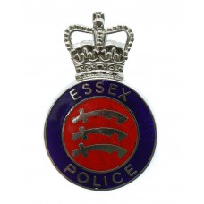 Essex Police Enamelled Cap Badge - Queen's Crown