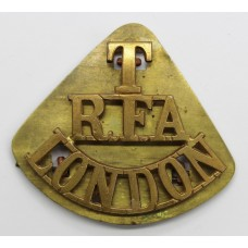 Royal Field Artillery London Territorials (T/R.F.A./LONDON) Shoul