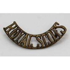 Royal Scots (ROYAL SCOTS) Shoulder Title