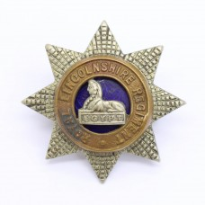 Royal Lincolnshire Regiment Officer's Field Service Cap Badge