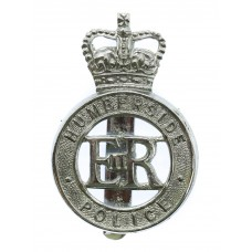 Humberside Police Cap Badge - Queen's Crown