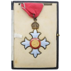 Commander of the Most Excellent Order of the British Empire, C.B.E. (Civil Division) Neck Badge