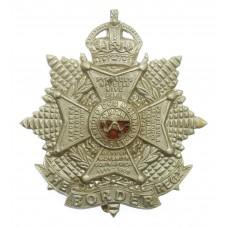 Border Regiment Cap Badge - King's Crown