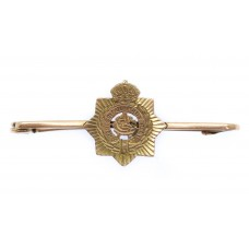 WWI Army Service Corps 9ct Gold Sweetheart Brooch