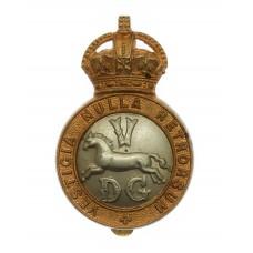 5th Dragoon Guards Cap Badge - King's Crown