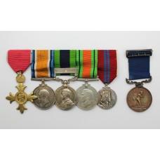 An O.B.E. (Civil) & Royal Humane Society Medal Life Saving Group of Six - Lt. Col. G.F. Dale, Commanding Officer, 5th Bn. Cambridgeshire Home Guard (late 2nd Dragoon Guards)