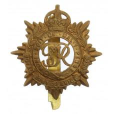 George VI Royal Army Service Corps (R.A.S.C.) Cap Badge