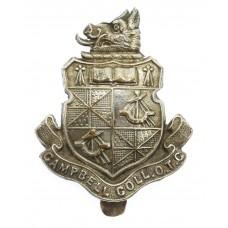 Campbell College, Belfast O.T.C. Cap Badge