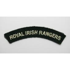 Royal Irish Rangers (ROYAL IRISH RANGERS) Cloth Shoulder Title