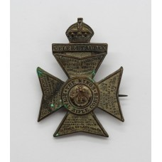 King's Royal Rifle Corps (K.R.R.C.) Sweetheart Brooch - King's Crown