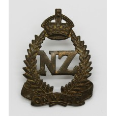 New Zealand Expeditionary Force (N.Z.E.F.) Cap Badge - King's Crown