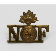 Northumberland Fusiliers Shoulder Title