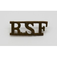 Royal Scots Fusiliers (R.S.F.) Shoulder Title