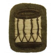 British Army Drummers Drum Cloth Trade Badge