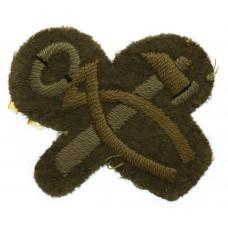 British Army Blacksmith/Articifer Cloth Trade Badge
